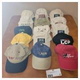 15 Assorted Vintage Hats