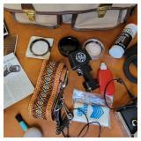 Vintage Olympus OM-1 Camera w/Strap. Original Manuals, Accessories and Bag