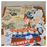 Mint Condition John F Kennedy Memorabilia