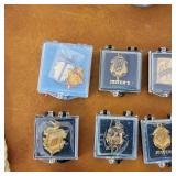 Vintage HS Pins, Whistle, Salt & Pepper Gavels
