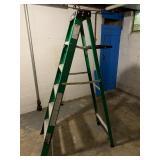 Gorilla Brand Fiberglass Step Ladder