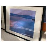 Two Framed Water Scene Prints