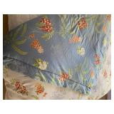 Reversible Comforter and Coordinating Set of Sheets