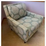 Beautiful West Elm Everett Chair w/ Pattern