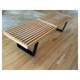 George Nelson Platform Bench for Herman Miller