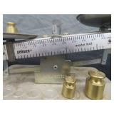 PELUZE SCALE WITH 3 WEIGHTS