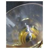 """WALL MOUNTED CORK PULLER AND 2 """"DOMINO LUMINARC"""" WINE GLASSES"""