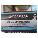 Federal 30-06 Springfield 150 GR Soft point