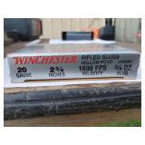 Winchester 12 Gauge 2 3/4 Rifled Slug Hollow Point