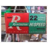 Remington (Collectible) 22 long Rifle Cartridges