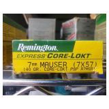 Remington 7MM Mauser (7X57) 140 GR.