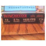 "Winchester 12 GA 2 3/4"" High Velocity Slugs"