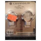 Leupold  STD High Rings (.900)  (49905) ,Silver