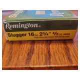 Remington Slugger 16 GA 2 3/4 Rifled Slugs