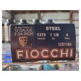 Fiocchi 12 GA 2 3/4 (4) Shot Steel