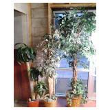 (3) Artificial Plants *See Photos*...