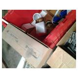 Lockable Tote and additional box of...