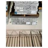 427 SF of Brand Name Cork Backing LVP Flooring - Walnut Auburn