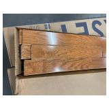 """250 SF of High End High Gloss Somerset Color Collection 3 1/4"""" Solid Hardwood - Gunstock"""
