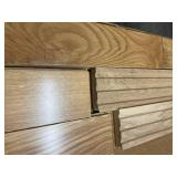 """150 SF of Premium Solid 5"""" Character Plank Collection Somerset Hardwood - Natural White Oak"""