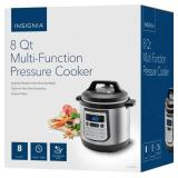 Insignia™ - 8qt Digital Multi Cooker - Stainless Steel