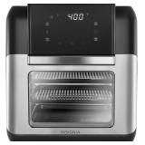 Insignia™ - 10 Qt. Digital Air Fryer Oven - Stainless Steel