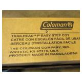 Coleman Trailhead Easy Step Cot - 2000029083 - NEW