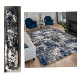 Thomasville Bali Luxury Shag Rug/Ultra Soft - 5ft 3in x 7ft 5in with Luxurious Underfoot