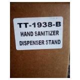 Hand Sanitizer Stand in Gray TT-1938-B