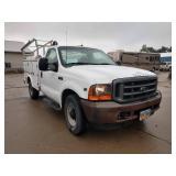 2001 Ford F250 Utility Truck