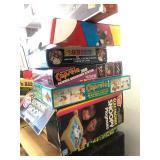 Lot of Assorted Vintage Board Games etc