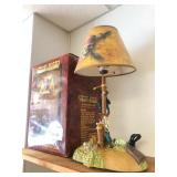 Pirates of The Caribbean Animated Lamp w/Box