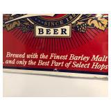 LARGE Vintage MILLER Beer Metal Sign