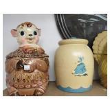 Lot of 11 Vintage Cookie Jars