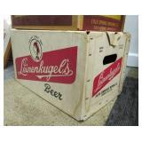Old Vintage Cardboard Beer Boxes & Ammo Box