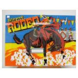 Vintage Rodeo Arcade Marquee