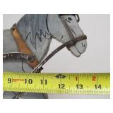 Old Vintage Painted Wood Horse Pull Toy
