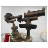 2 Old Vintage Brass Blowtorches