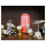 Cool Collection of Miniature Clocks