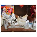 Contents of Shelf & Countertop