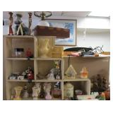 Contents of Tabletop & Stairstep Display Cabinet