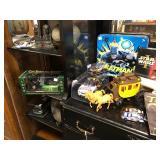 Contents of Black Dresser Top & Cabinet