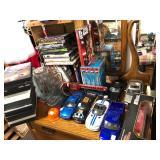 Contents of Oak Dresser Top