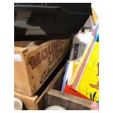 All Items on Top of Old Trunk - Records Comic Books Beer Cans etc