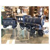 Vintage Style Cast Iron Train