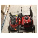 Lot of 3 Assorted Push Lawn Mowers Not checked Customer Returns See Pictures