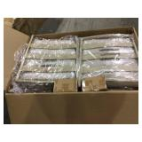 Mansford Park Aluminum 4-Piece Deep Seating Set with Beige Cushions by Hampton Bay Customer Returns See Pictures