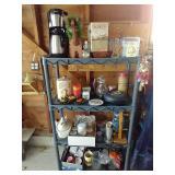 Three Shelf Unit & All Contents