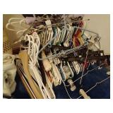 Huge Lot of Bags, Purses & Hangers