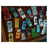 Lot of Mostly Vintage Toy Cars